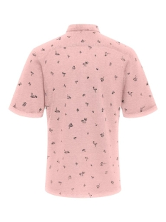 onscuton ss knitted pique aop shirt 22013293 only & sons overhemd mauveglow
