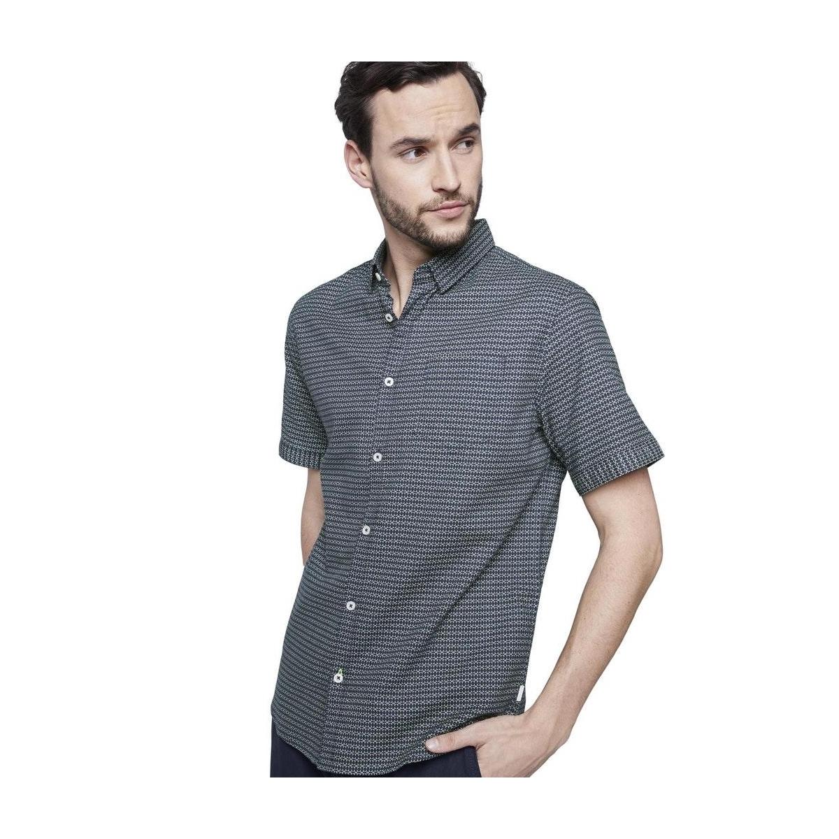overhemd met borstzak 1020021xx10 tom tailor overhemd 22627
