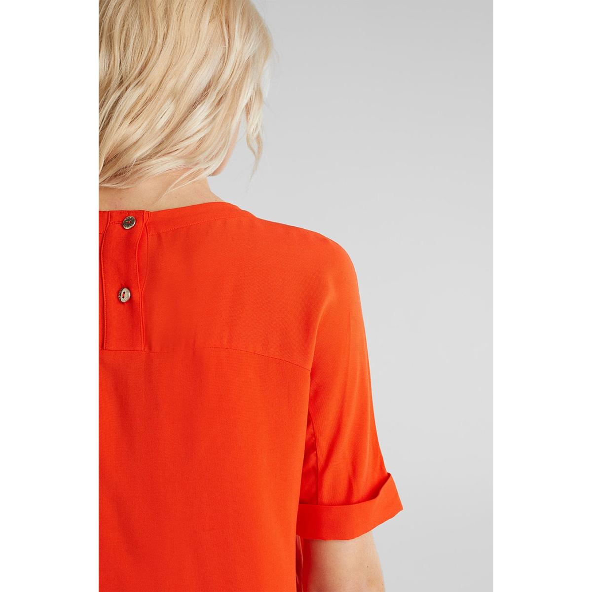 blouse met korte mouwen 040eo1f314 esprit collection blouse e825