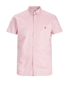 Jack & Jones Overhemd JPRBLASPRING OTTO SHIRT S/S 12173290 RED DAHLIA/ Slim fit