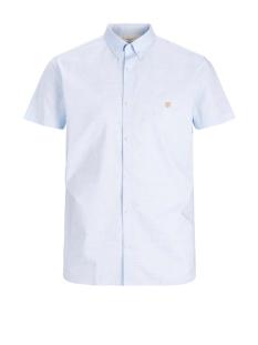 Jack & Jones Overhemd JPRBLASPRING OTTO SHIRT S/S 12173290 CASHMERE BLUE/SLIM