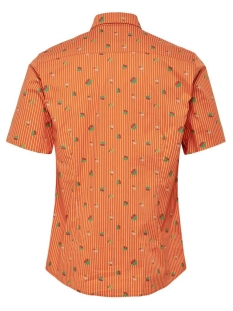 onswilliam ss ditsy fruit stretch shirt 22016251 only & sons overhemd gold flame
