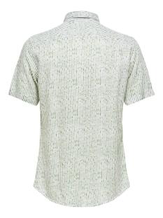 onscaiden ss herringbone stripe shi 22016641 only & sons overhemd pesto