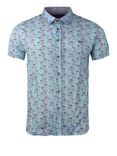 Gabbiano Overhemd KORTE MOUW HEMD 33871 BLUE