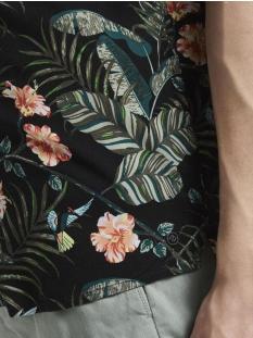 hawai shirt met korte mouwen 1018203xx12 tom tailor overhemd 22459