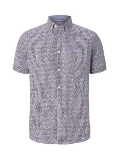 Tom Tailor Overhemd OVERHEMD MET KORTE MOUWEN EN BORSTZAK 1017176XX10 22147