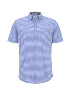 Tom Tailor Overhemd GESTREEPT SHIRT MET KORTE MOUWEN 1018646XX10 22655