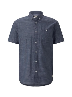 Tom Tailor Overhemd SHIRT MET KORTE MOUWEN EN TURN UPS 1018830XX12 18921