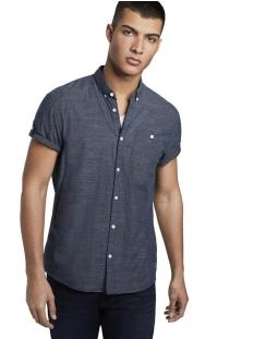 shirt met korte mouwen en turn ups 1018830xx12 tom tailor overhemd 18921