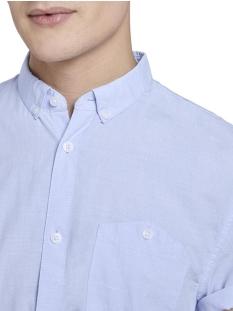 shirt met korte mouwen en turn ups 1018830xx12 tom tailor overhemd 18922