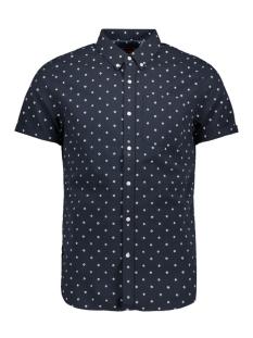 ss classic seersucker shirt m4010051a superdry overhemd navy aop