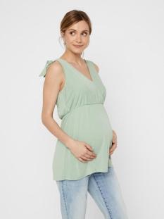 Mama-Licious Positie shirt MLSKYLAR TESS S/L JERSEY TOP 2F 20010955 Green Bay