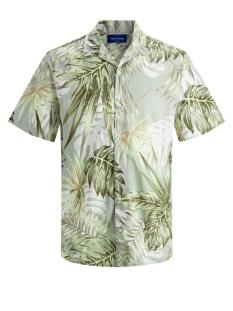 jormarty organic shirt ss 12170478 jack & jones overhemd green milieu