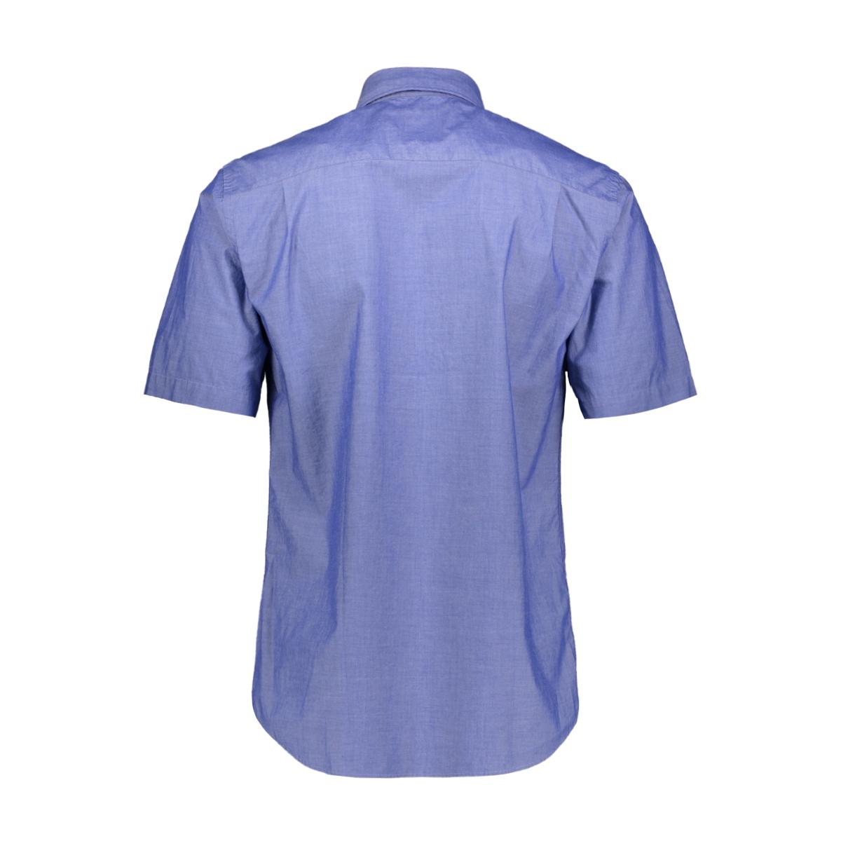 casual overhemd km 052906 campbell overhemd 381 donkerblauw uni