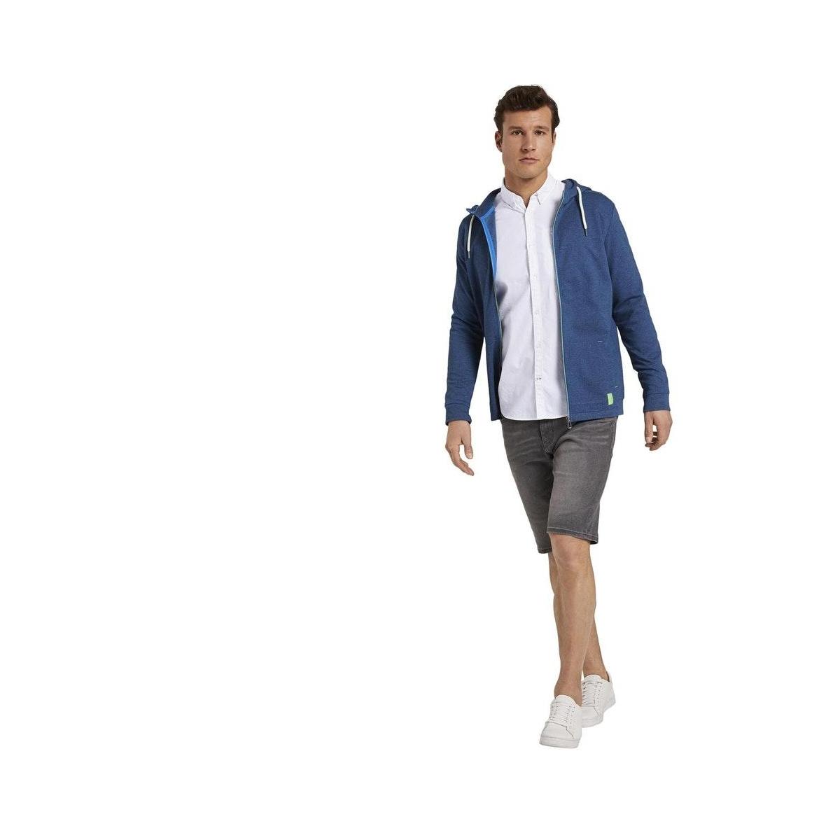 shirt met paspelzak 1019475xx10 tom tailor overhemd 20000