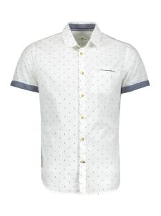 Tom Tailor Overhemd GEDESSINEERD HEMD MET KORTE MOUWEN 1019472XX10 23258