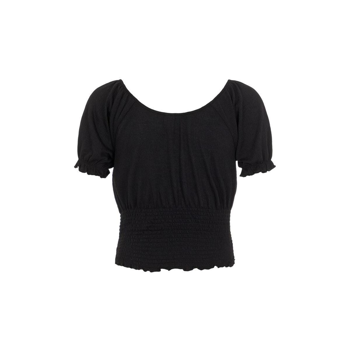 pcannie ss top bc 17103589 pieces t-shirt black