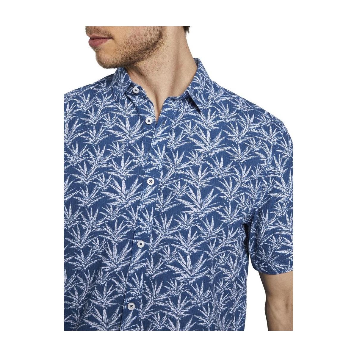 hemd met korte mouwen 1019469xx10 tom tailor overhemd 23280
