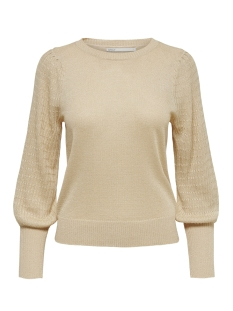 Only T-shirt ONLMEGAN L/S PULLOVER CC KNT 15206747 Frosted Almond