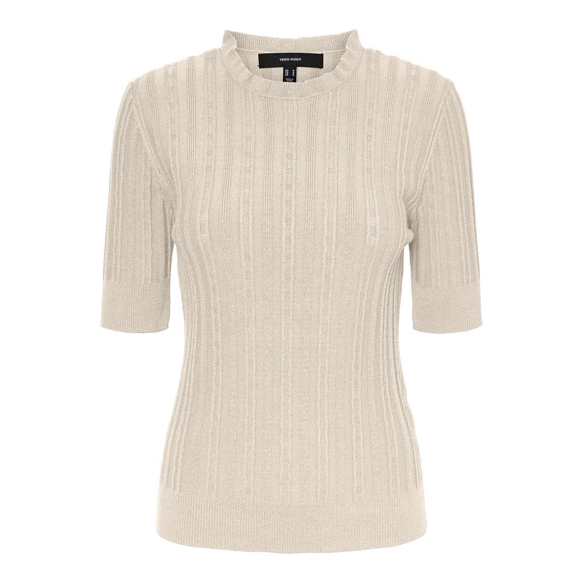 vmvitawave 2/4 highneck blouse ga 10232495 vero moda trui birch