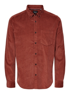Only & Sons Overhemd ONSBENNET LS REG BABY  CORD SHIRT 22017286 Henna