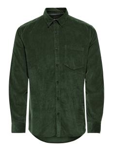 onsbennet ls reg baby  cord shirt 22017286 only & sons overhemd deep depths