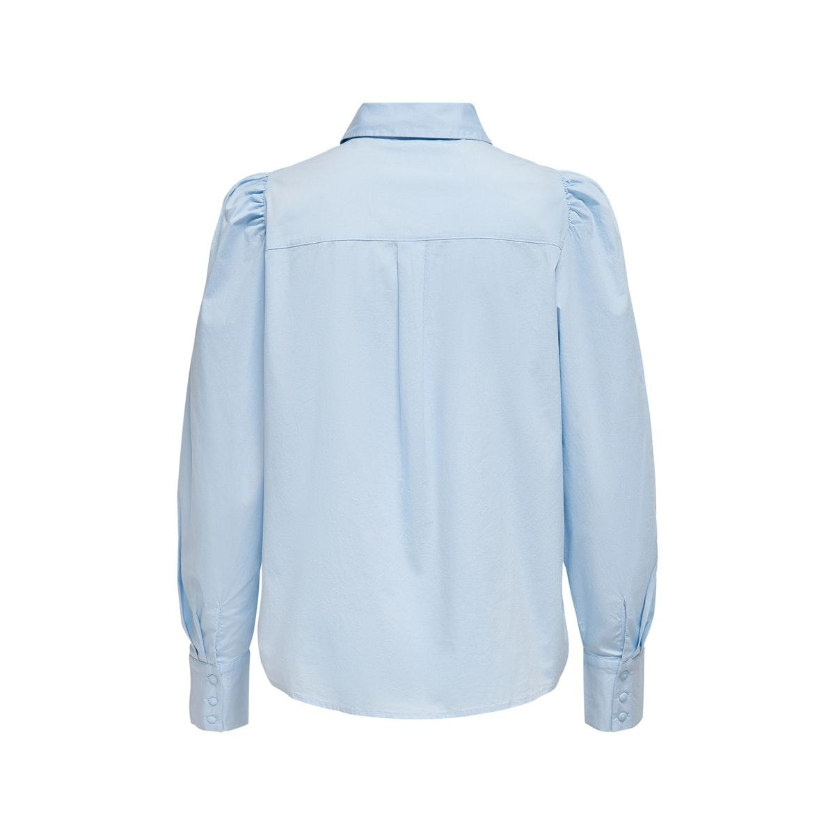 onlfreddy life l/s shirt wvn 15211070 only blouse cashmere blue
