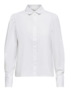 onlfreddy life l/s shirt wvn 15211070 only blouse cloud dancer