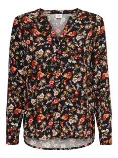 Jacqueline de Yong Blouse JDYBELLO L/S SHIRT WVN 15218501 BLACK/FLOWER