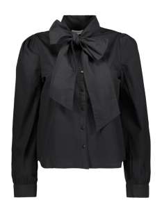 Only Blouse ONLBILLIE BOW PEARL LIFE DNM SHIRT 15214907 Black