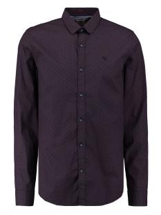 Garcia Overhemd OVERHEMD MET ZIGZAG PATROON T01234 2784 MERLOT
