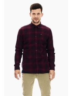 Garcia Overhemd GEBLOKT OVERHEMD T01225 2784 MERLOT