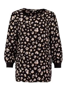 Garcia T-shirt T SHIRT MET BLOEMENPRINT T00232 60 BLACK