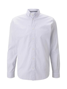 Tom Tailor Overhemd STRETCH OVERHEMD MET DESSIN 1021064XX10 24487