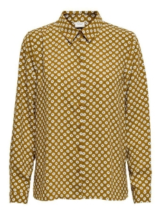 Jacqueline de Yong Blouse JDYLION L/S SHIRT WVN 15207816 Golden Brown/FLOWER