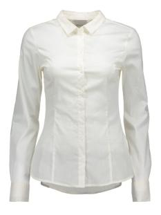 vmlady l/s shirt 10145524 vero moda blouse snow white