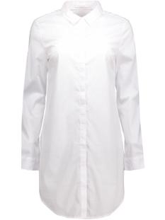 Pieces Blouse pcBenita ls Long Shirt 17074758 White