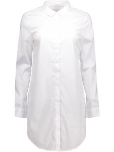 Pieces Blouses pcBenita ls Long Shirt 17074758 White