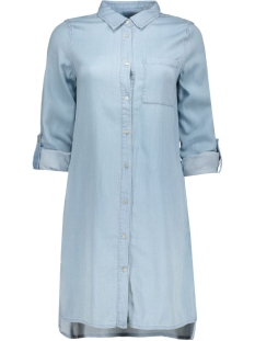 Object Blouse ObjAnnso Long Shirt 23022871 light blue denim