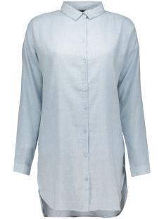 viliza long shirt 14036741 vila tuniek cashmere blue