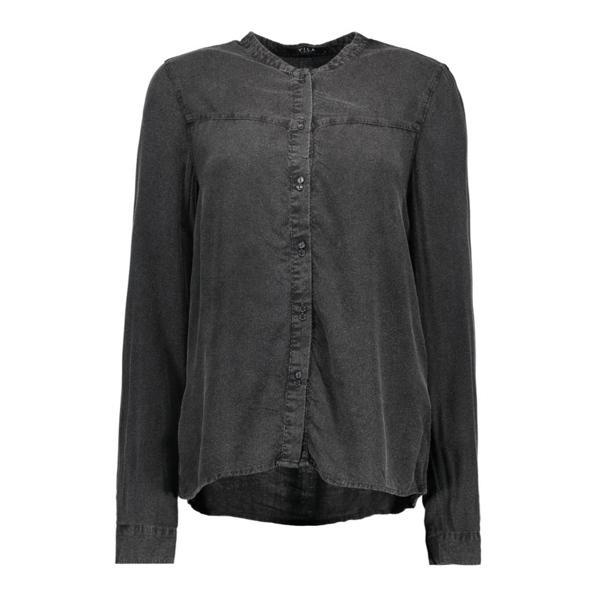 vicosa l/s shirt 14035707 vila blouse black