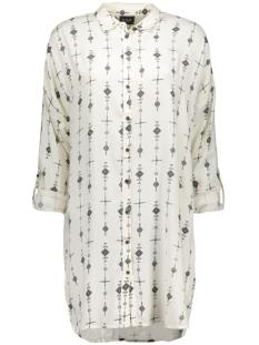 vipointy long shirt 14036772 vila blouse pristine/pointy