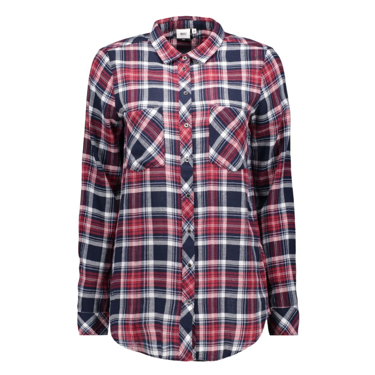 objblueberry l/s shirt 23020704 object blouse sky captain