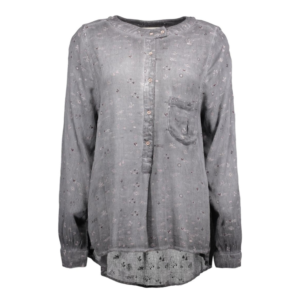 w16.3.9773 circle of trust blouse black ink
