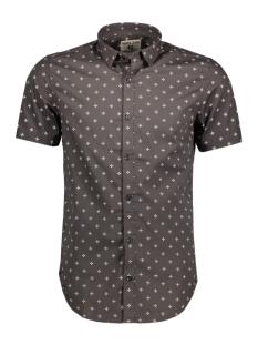 Garcia Overhemd C71082_men`s shirt ss 2436 Charcoal