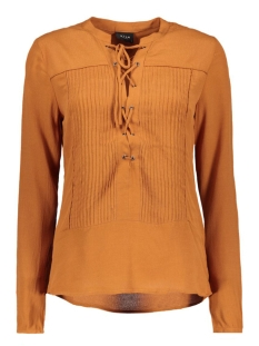 Vila Blouses VIANNEMARY SHIRT 14037417 Roasted Pecan