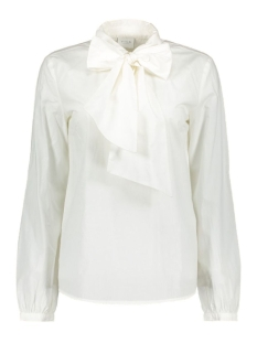 Vila Blouse VIBOWLER L/S TOP 14039855 Cloud Dancer