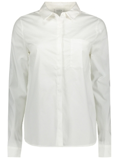 VICHAU L/S SHIRT-NOOS 14039617 Snow white