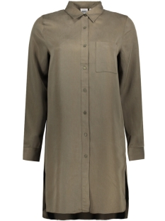 Object Tuniek OBJSOFIA ANNSO LS LONG SHIRT A 23025042 Ivy Green