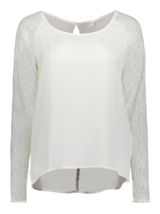 VILOVELACE L/S TOP /DU 14042754 Cloud Dancer